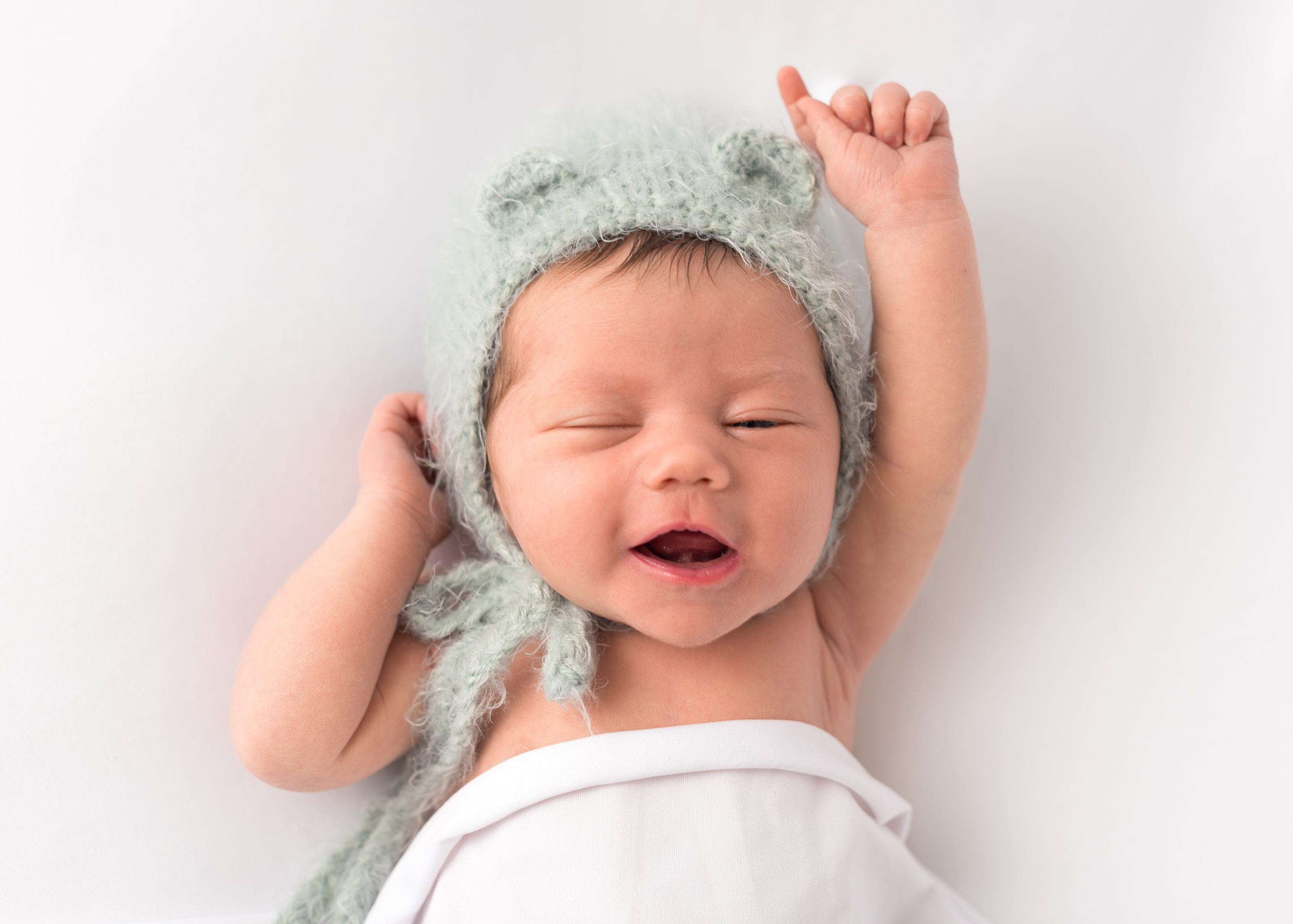 Newborn child family photographer fleet baby love photography